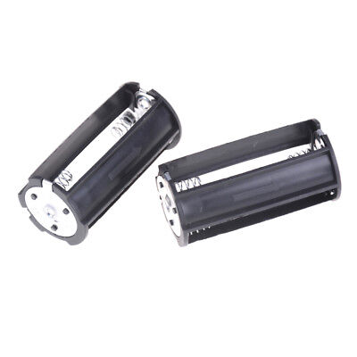 2Pcs 3 x AA Battery Plastic Holder Box Case  for Flashlight Torch Z