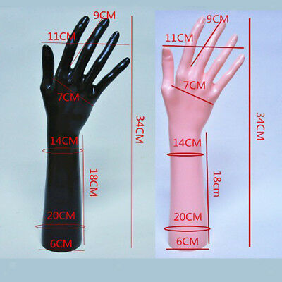 Female Mannequin Right Hand Jewelry Bracelet Ring Glove Display Stand Holder