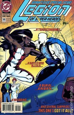 Legion of Super-Heroes (4th Series) #50 1993 VF Stock Image