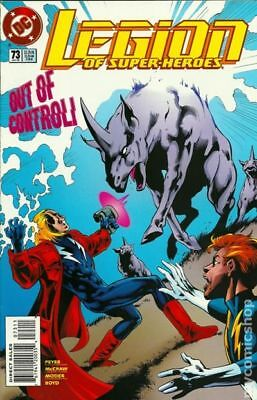 Legion of Super-Heroes (4th Series) #73 1995 VF Stock Image
