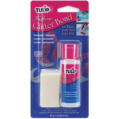 Tulip Fashion Glitter Bond 1oz