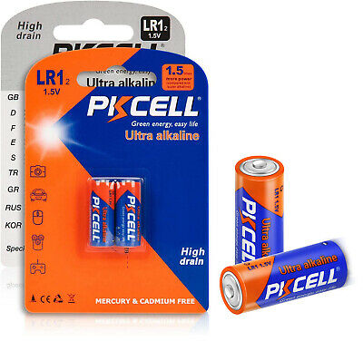 8 Pack E90 N LR1 MN9100 910A 1.5V Size N Alkaline Battery for Bluetooth Headsets