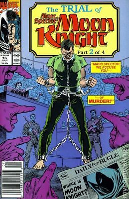 Marc Spector Moon Knight #16 1990 FN Stock Image