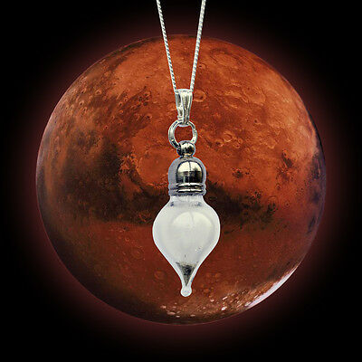 REAL Mars Dust Meteorite Necklace - Tear