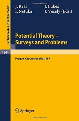 Potential Theory, Surveys and Problems: Proceedings of a C... | Buch | gebraucht