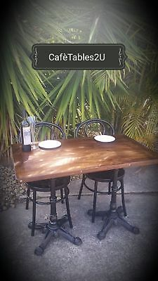 Cafe tables RUSTIC TIMBER BARGAIN PRICES ALL SIZES