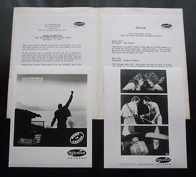 Queen  :  Made In Heaven - 1995 Usa Promotional Press Pack Promo Kit Incl Photos