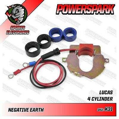 Lucas DKY4A negative earth Standard 10 Electronic ignition kit Powerspark