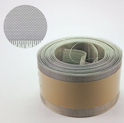 Stainless Steel Insect Mesh Roll 75mm x 30 Metre(#22 0.96mm Hole x 0.22mm Wire)