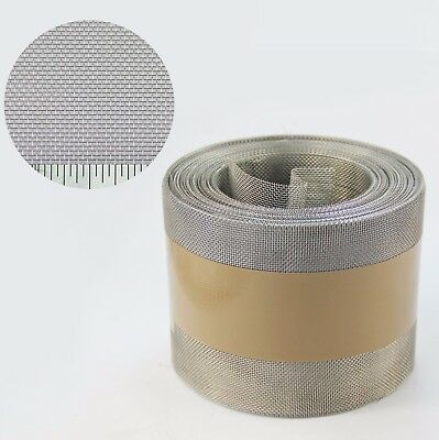 Stainless Steel Insect Mesh Roll 100mm x 30 Metre(#22 0.96mm Hole x 0.22mm Wire)