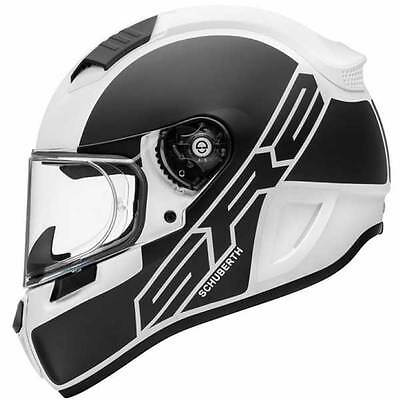 Schuberth SR2 Traction White Motorcycle Motorbike Full Face Helmet All Sizes