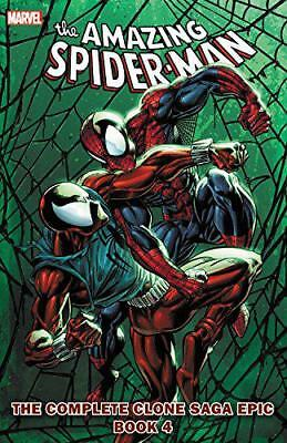 Spider-Man: The Complete Clone Saga Epic Book 4 by DeMatteis, J. M., DeFalco, To
