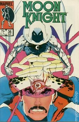 Moon Knight (1st Series) #36 1984 FN+ 6.5 Stock Image
