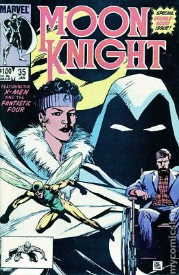 Moon Knight (1st Series) #35 1984 FN Stock Image