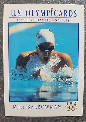 US Olymp Cards Mike Barrowman OS 1992 Nr. 68 Trading Card