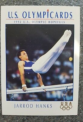 US Olymp Cards Jarrod Hanks OS 1992 Nr. 45 Trading Card