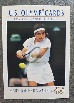 US Olymp Cards Mary-Joe Fernandez OS 1992 Nr. 83 Trading Card