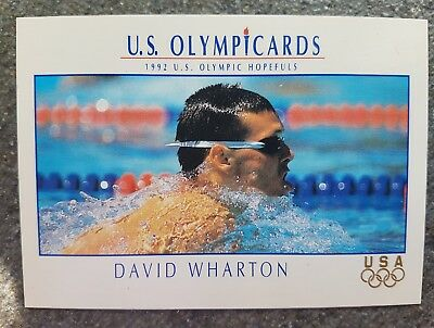 US Olymp Cards David Wharton OS 1992 Nr. 73 Trading Card