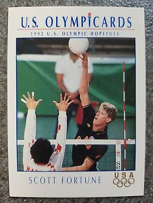 US Olymp Cards Scott Fortune OS 1992 Nr. 92 Trading Card