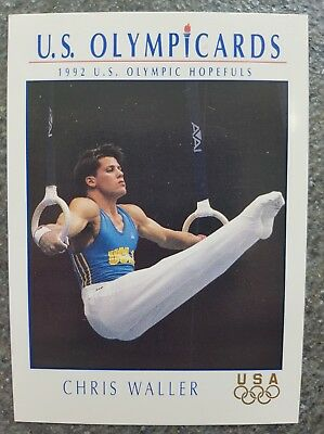 US Olymp Cards Chris Waller OS 1992 Nr. 49 Trading Card