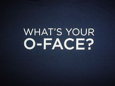 THREE OLIVES VODKA That's Your O Face Liquor Logo Promo NEW Unworn XL T SHIRT