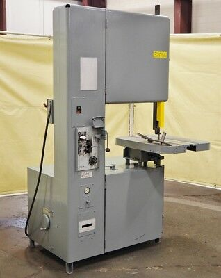 "GROB 3 HP 24"" Vertical Bandsaw Model 4V-24"