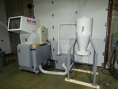 Capital Shredder MX-400 Disintegrator Shredder 20 HP with Vac 2014 Nice