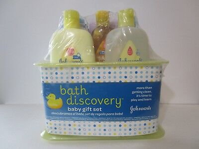 Johnson's Baby Bath Discovery Gift Set, Brand new, FREE SHIPPING!