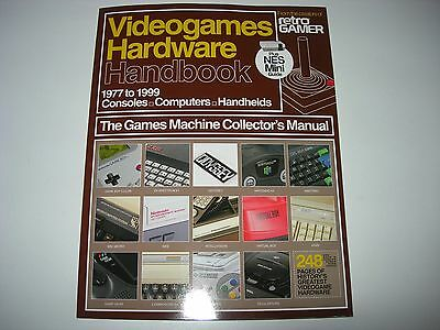 Retro Gamer : VIDEOGAMES HARDWARE HANDBOOK (2017 Edition) 248 Pages + NES Mini +