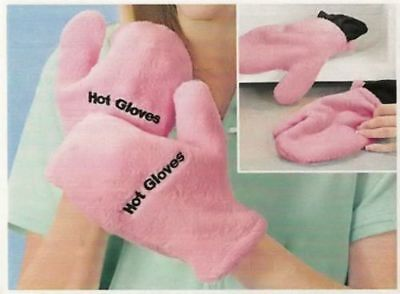 Microwave Therapeutic Hot/cold Gloves - Pink