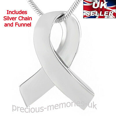 Keepsake Cremation Ashes Necklace - Funeral Memorial Jewellery - Ash Urn Pendant