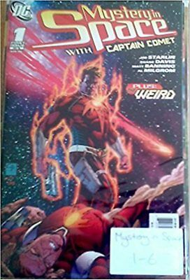 DC Comics Mystery In Space With Captain Comet 2006 Complete Set Issues 1-6