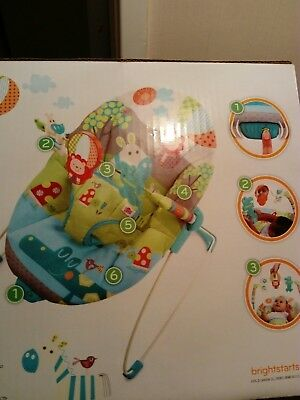 bright starts baby bouncer chair * great condition *