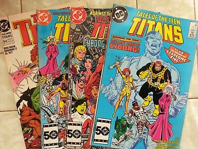 Tales of the Teen Titans 56 - 58 / The New Titans # 64