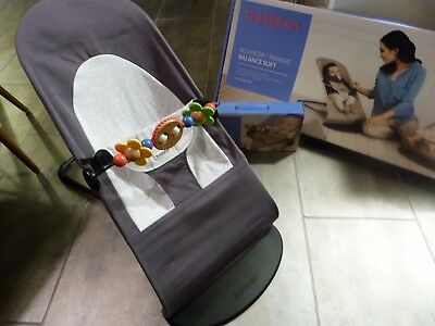 BabyBjorn bouncer chair with toy bar