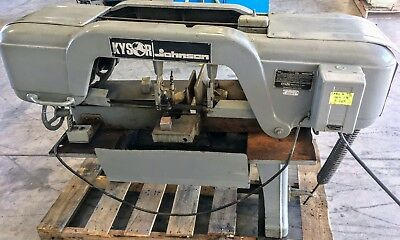 Kysor Johnson J-Series 10″ x 18″ Horizontal Band Saw w/ Coolant System