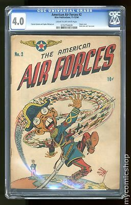 American Air Forces #2 1944 CGC 4.0 0152754028