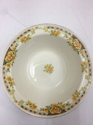 The Edwin M Knowles China Company Vintage Salad/Serving Bowl Jl 120117