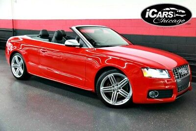 2010 Audi S5 Cabriolet Convertible 2-Door 2010 Audi S5 Premium Plus Convertible 1-Owner 19,058 Miles Navi B&O BUC Serviced