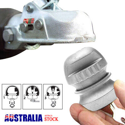 Universal Coupling Hitch Lock Trailer Part Tow Ball Caravan Security Anti Theft