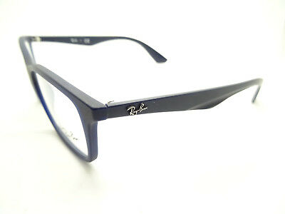 Ray Ban RB 7047 5450 Matte Transparent Blue Glasses,glasses,frames,spectacles