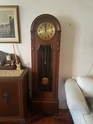 antique german grandfather clock