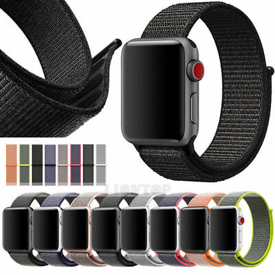 Nylonamband Gewebtes Nylon Sport Loop Armband Für Apple Watch Band Series 3 2 1