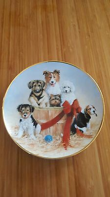 Collector Plate - ASPCA - Basket Of Cheer - Franklin Mint