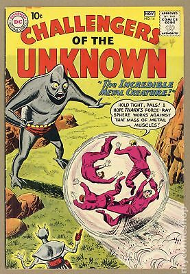 Challengers of the Unknown (DC 1st Series) #16 1960 VG/FN 5.0