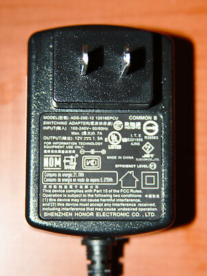 AC/DC Power Adapter Charger For WD western digital seagate ADS-25E-12