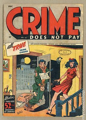 Crime Does Not Pay #43 1946 GD/VG 3.0
