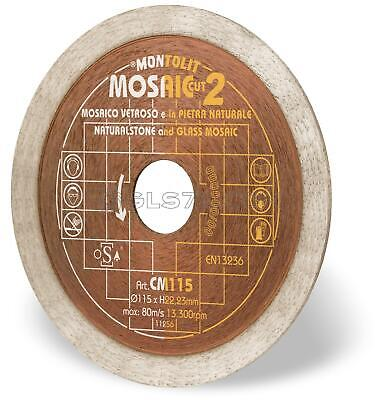 Diamond Blade Disc For Mosaic And Slim And Soft Ceramic Montolit Cermont Cm