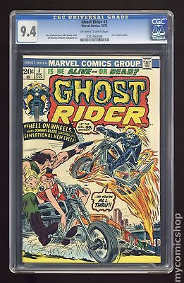 Ghost Rider (1st Series) #3 1973 CGC 9.4 0702580009