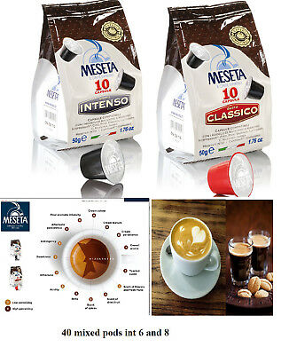 60 x Nestle Nespresso capsules coffee compatible pods 45% arabica. Italian roast